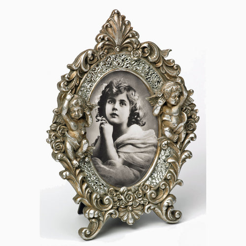 L'Ange vintage rococco style 7x5 photo frames from The Photo Album Shop