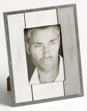 Homme weathered timber and tin photo frame 10x15cm / 6x4""