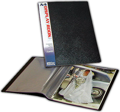 Bantex A4 display books 40 sleeves / 80 photos