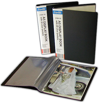 Bantex A5 display books 40 sleeves / 80 photos