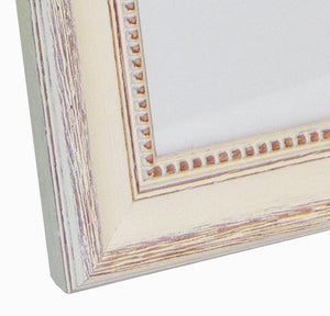 Antique timber photo frame 20x20cm / 8x8""