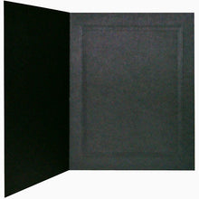 Black Linen 6x4 photo folders (pack of 50)