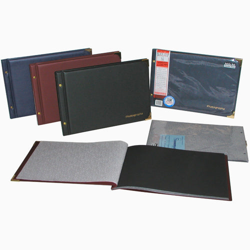 Cumberland FM665 Black Leaf small photo albums