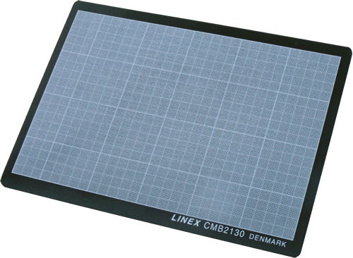 Linex A4 knife cutting mats, self-healing, black