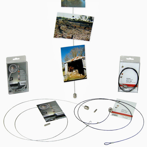 Metal photo ropes with 8 magnets