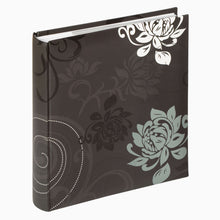 Grindy 11.5 x 15.5cm oversize slip-in 200 photo albums in black ME201B