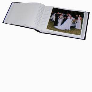 Open Classic 8x6 slip-in photo album with 15x20cm print from The Photo Album Shop