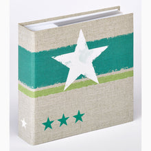 ME479 Stellar 6x4 slip-in 200 photo album in green