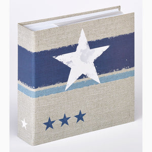 ME479 Stellar 6x4 slip-in 200 photo album in blue