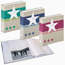 Stellar 7x5 slip-in 200 photo albums in three colours from The Photo Album Shop