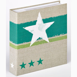 Stellar green 13x18cm slip-in 200 photo albums
