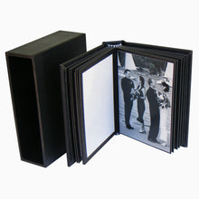 PortoBella self-mount 3½x2½ portfolio album with slipcase