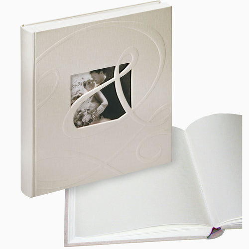 Ti Amo medium wedding albums, white pages