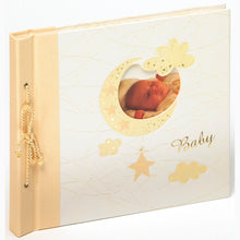 Bambini baby tassel-bound photo albums with windows
