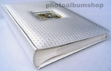 White Diamond 6x4 slip-in 300 photo albums with window
