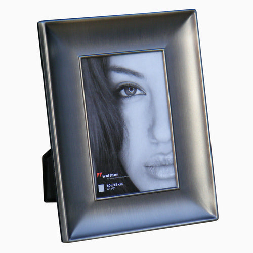 Lara1 matt anthracite metal photo frame 10x15cm / 6x4