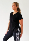 Basic Black Maternity & Nursing T-Shirt
