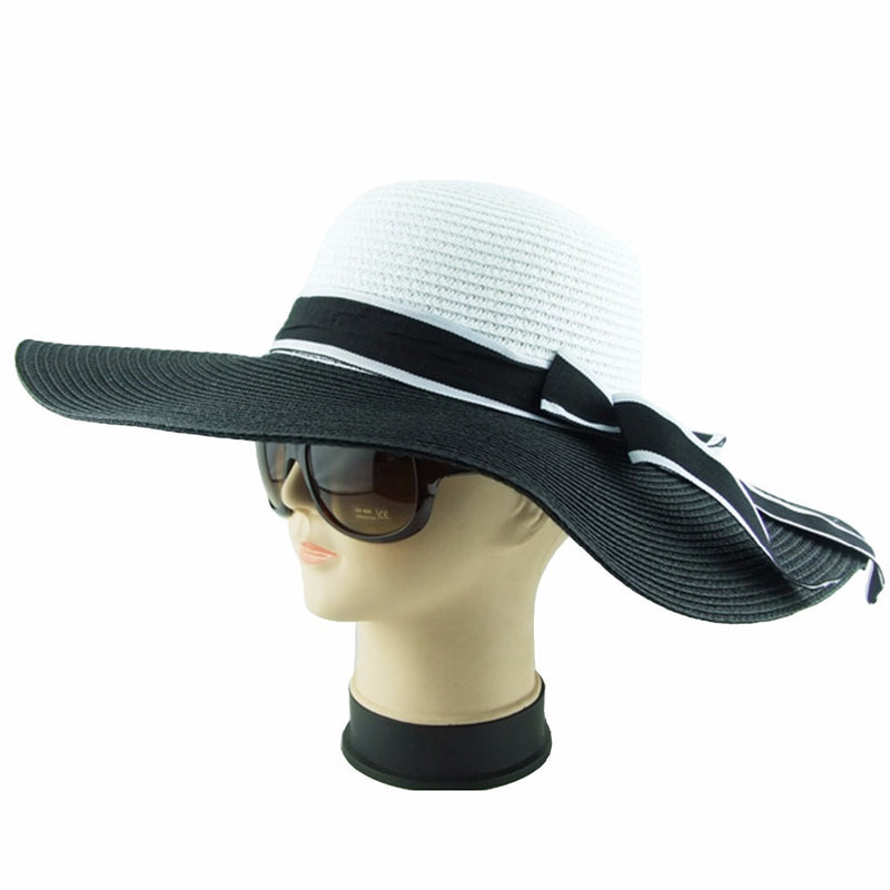 51c8338e5f486a Tzarendipity's Black and White Bowknot Summer hats!