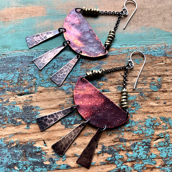 Sunshine Daydream Mixed Metal Earrings