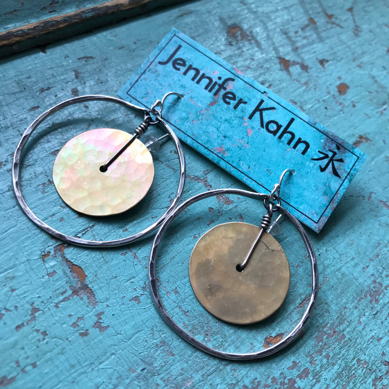 Circles Within Earrings - Medium