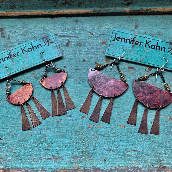 Small Sunshine Daydream Mixed Metal Earrings
