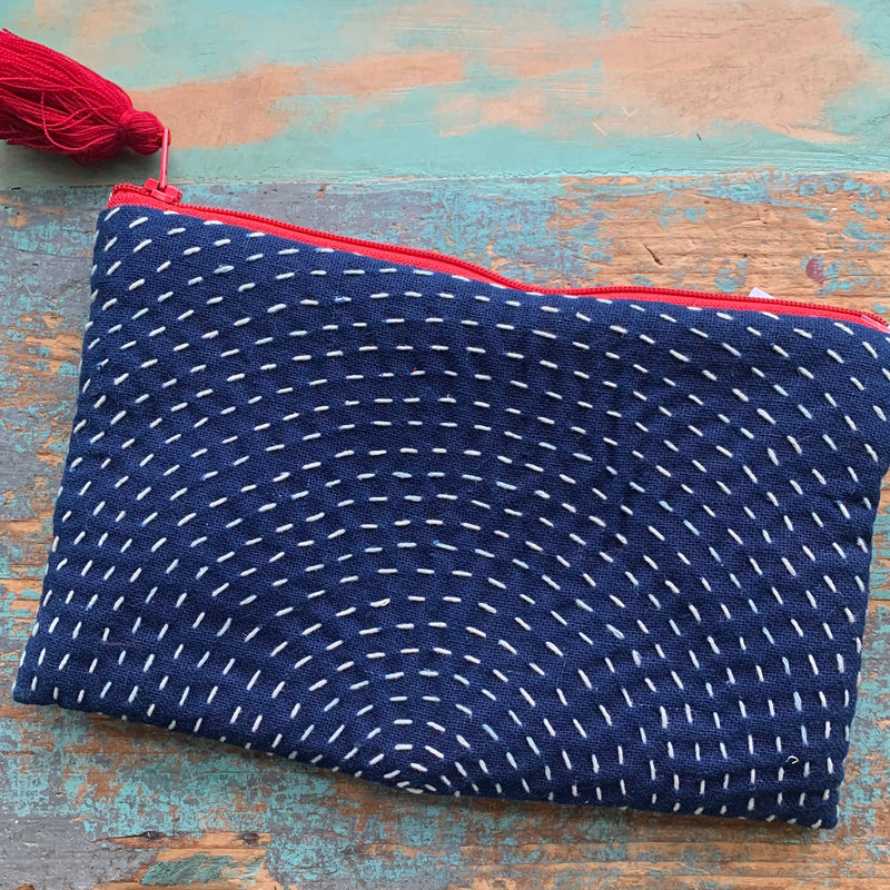Line Stitch Pouch Large