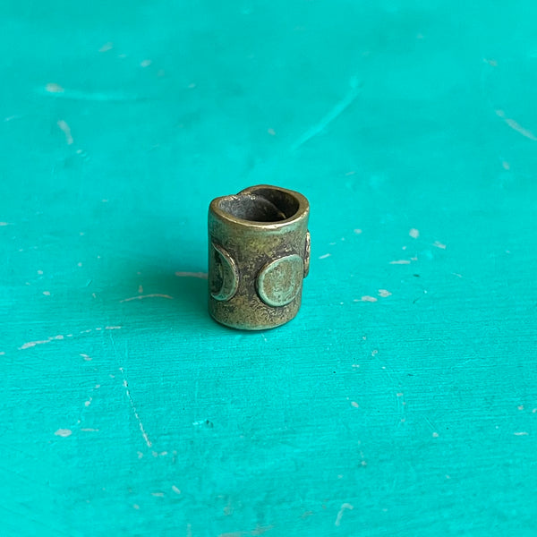 Moon Phase Bead - Brass