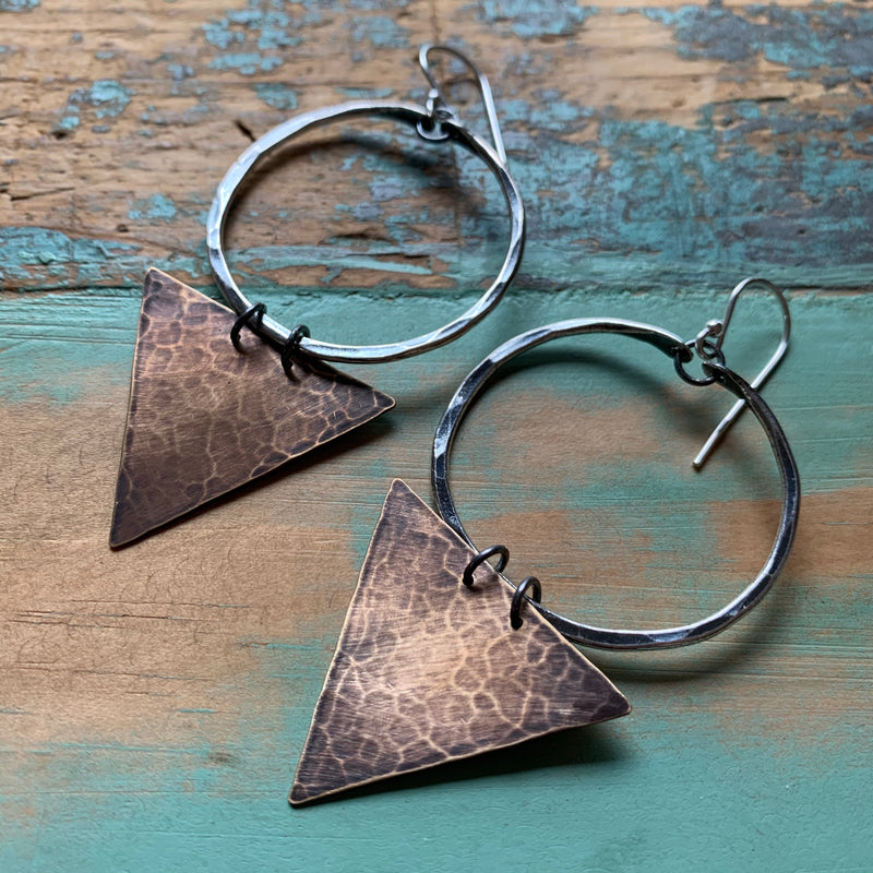Geometric Earrings - Small