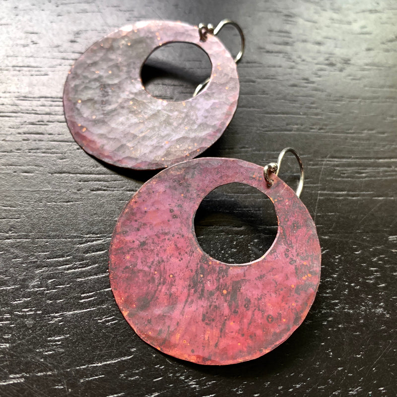 Copper Boho Circles