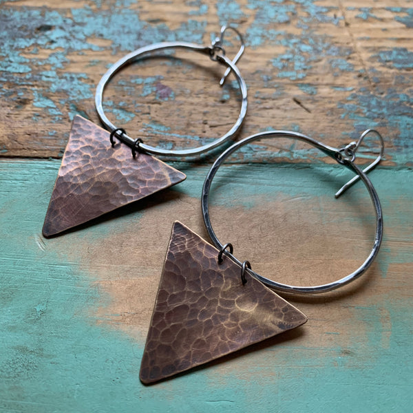 Geometric Earrings - Medium