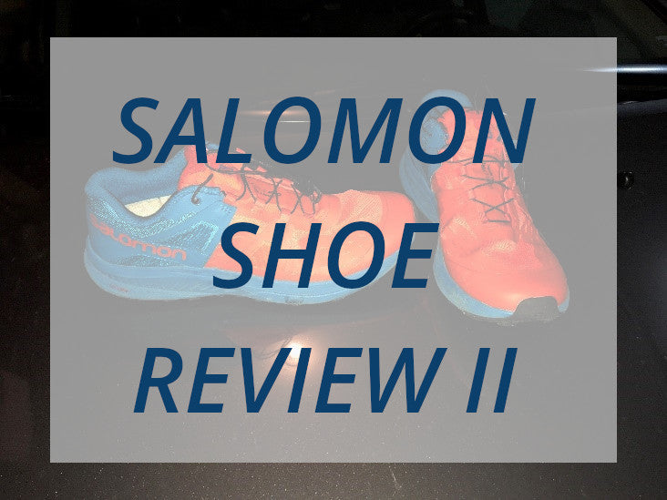 Salomon Shoes Post Adventure Race Review