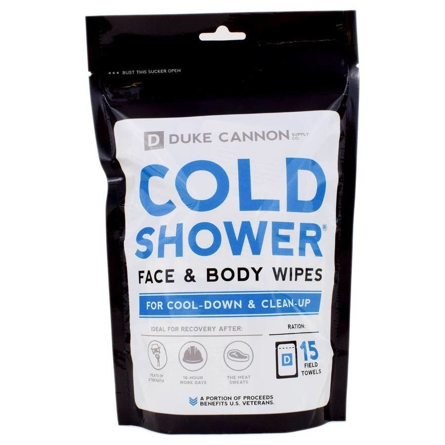 Duke Cannon Cold Shower Cooling Field Towels Multi Pack