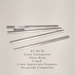 Clear Transparent RT-00-96 Glass Rods Coe96 Oceanside Compatible™ System 96® Glass Fusion Glass Fusing Warm Glass Glass Rods for Beadwork Bead Making Mosaic dots Happy Glass Art Supply www.happyglassartsupply.com