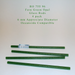 Fern Green Opal RO-755-96 Glass Rods Coe96 Oceanside Compatible™ System 96® Glass Fusion Glass Fusing Warm Glass Opalized Opalescent Glass Rods for Beadwork Bead Making Mosaic dots Happy Glass Art Supply www.happyglassartsupply.com