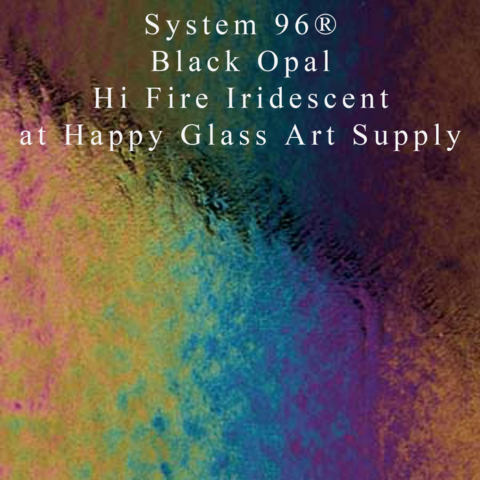 "Black Hi-Fire Iridescent System 96® 11"" SQ"