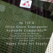Olive Green Transparent System96 Oceanside Compatible™ Coe96 Fusible Glass Happy Glass Art Supply www.happyglassartsupply.com