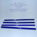 Navy Blue Transparent RT-5386-96 Glass Rods Coe96 Oceanside Compatible™ System 96® Glass Fusion Glass Fusing Warm Glass Rods for Beadwork Bead Making Mosaic dots Happy Glass Art Supply www.happyglassartsupply.com