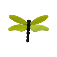 Dragonfly Small Green Wings PreCut System 96® Happy Glass Art Supply www.happyglassartsupply.com