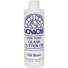 Glass Cutter Oil at www.happyglassartsupply.com