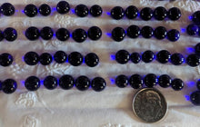 Load image into Gallery viewer, Dark Blue Transparent - Fusible Glass Pebbles Coe96 at www.happyglassartsupply.com