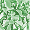 Pastel Green Opal aka Easter Green Opal System96 Coarse Frit fusible glass frit Oceanside Compatible System96 Coe96 at www.happyglassartsupply.com