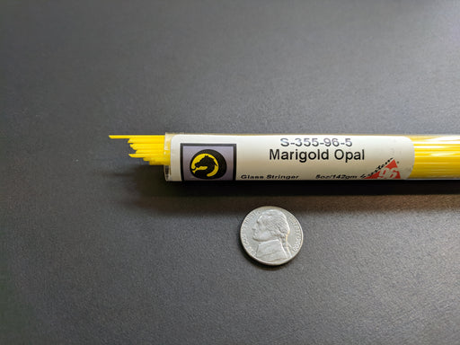 Marigold Opal System96 Oceanside Compatible™ Stringers at www.happyglassartsupply.com Happy Glass Art Supply.