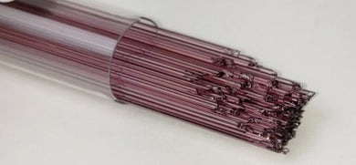 Light Purple Transparent System96 Oceanside Compatible™ Glass Stringers at www.happyglassartsupply.com Happy Glass Art Supply