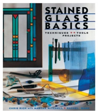 Stained Glass Basics Stained Glass Education Book Pattern Book at Happy Glass Art Supply www.happyglassartsupply.com