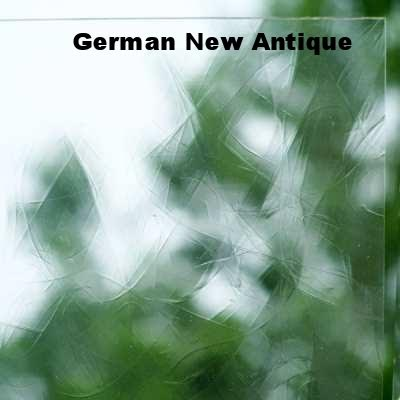 Clear German New Antique by Schott - GNA/DESAG Transparent Stained Glass Happy Glass Art Supply www.happyglassartsupply.com