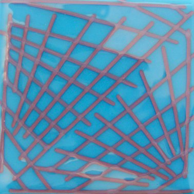 Red Reactive Opal fusible glass frit Oceanside Compatible System96 Coe96 at www.happyglassartsupply.com