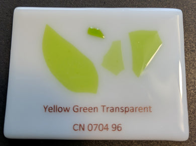 Yellow Green Transparent System96 Confetti - 1 ounce