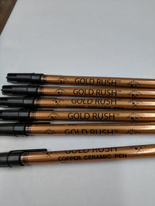 Copper - Gold Rush Ceramic Pen at happyglassartsupply.com