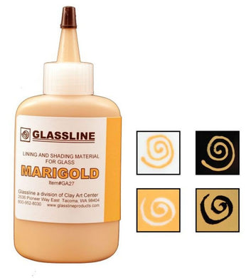 Marigold Glassline Fusing Paint Pen GA 27 at www.happyglassartsupply.com