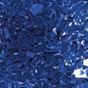 Cobalt Blue Transparent fusible glass frit Oceanside Compatible System96 Coe96 at www.happyglassartsupply.com